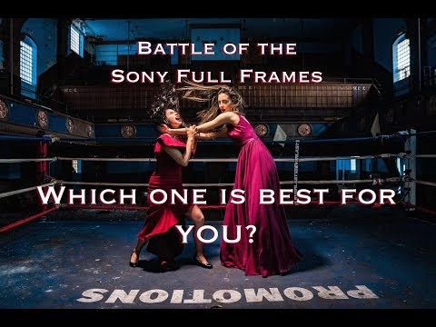 Battle of the Full Frames!  Sony A7iii vs. Sony A7Riii vs. Sony A9- which camera is best for YOU?