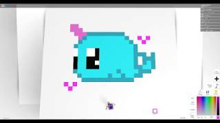 Pixel Art Creator Roblox Pictures Roblox Pixel Art Creator Drawing A Cute Under Water Unicorn By Candycanehero