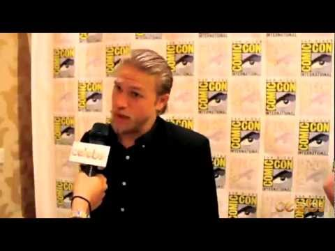 Sons of Anarchy's Charlie Hunnam at Comic Con - a Celebs.com Original