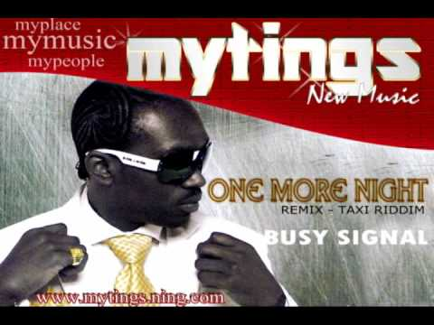 One More Night (Remix) - Busy Signal