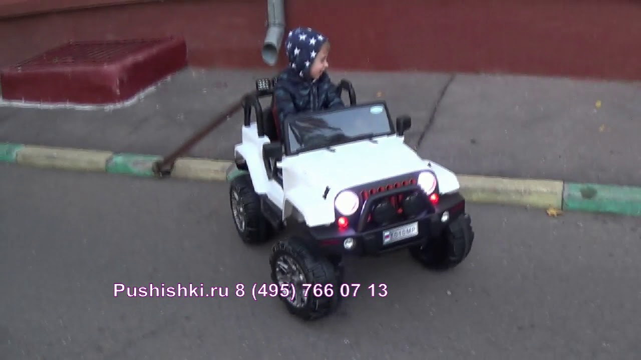 Полицейская машинка БРУДЕР ДЖИП - Обзор игрушки BRUDER Jeep .