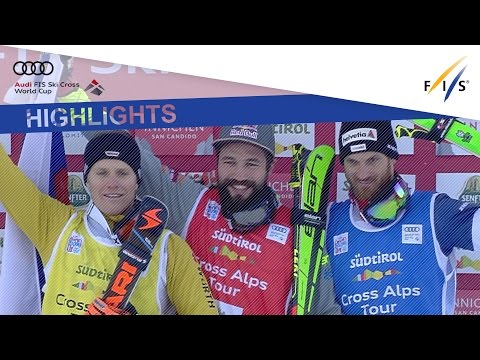Highlights | Flisar eases past rivals in Ski Cross #1 at Innichen | FIS Freestyle Skiing