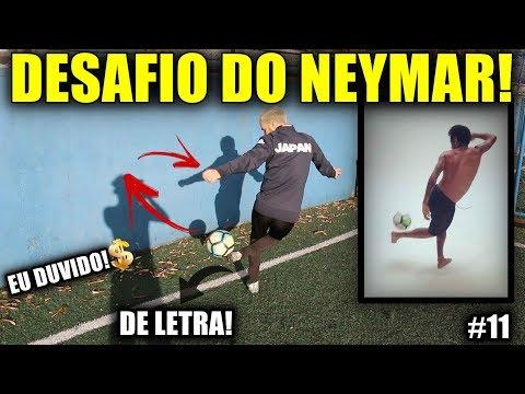 DESAFIO DO NEYMAR!!! feat. Brazil Kickers - EU DUVIDO! #11