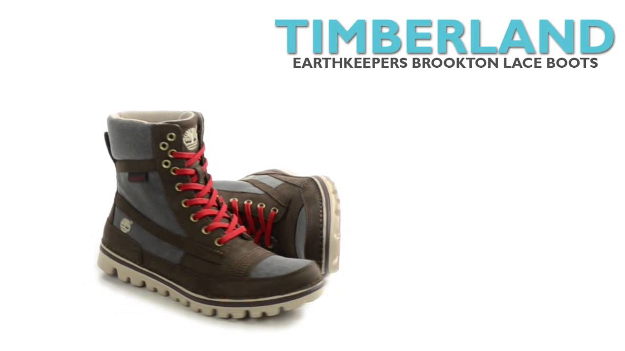 """Timberland Earthkeepers Brookton Lace Boots - 6"""" 5b5243bce9"""