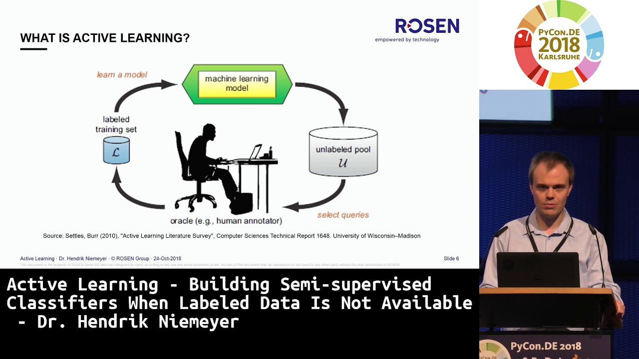 Image from Active Learning - Building Semi-supervised Classifiers when Labeled Data is not Available