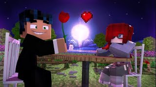 Steve and Anna go on a Date that Ends in Disaster!  (Minecraft Date Roleplay)