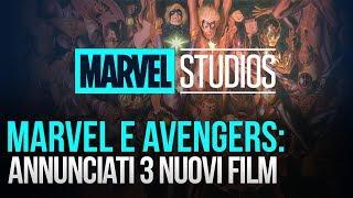 MCU: tre nuovi film Marvel in arrivo!