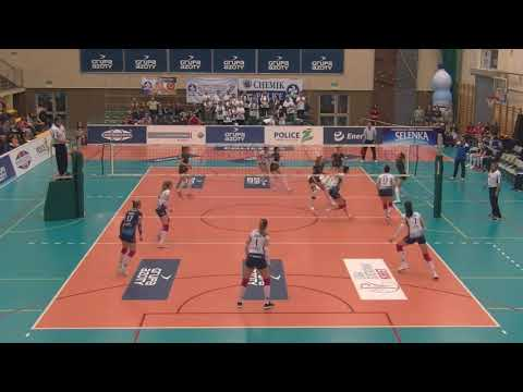 Natalia Mędrzyk OUTSIDE HITTER Polish League 2017-2018 nr 14 white shirt