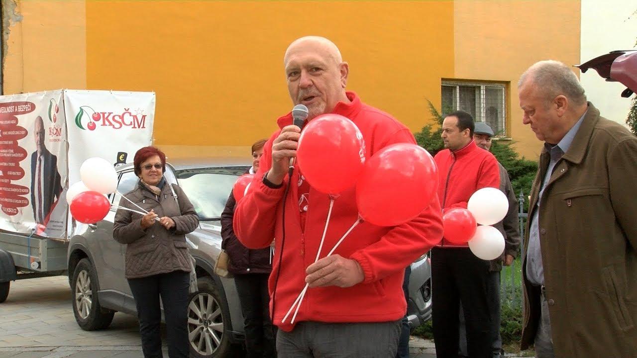 Bohumín - Lithium musí zůstat v českých rukou, zaznělo v Bohumíně na náměstí
