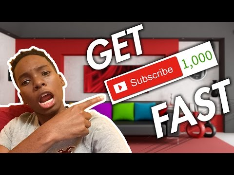 How To Get Your First 1000 YouTube Subscribers FAST
