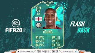 FIFA 20 SBC Flashback Ashley Young CHEAPEST SOLUTION 100000  FUT 20 SQUAD BUILDING CHALLENGE