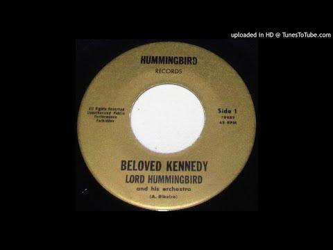 Lord Hummingbird-Beloved Kennedy & Teenage Bossa Nova Girl 1963 CALYPSO 45