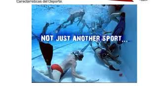 10 - Introducción Hockey Subacuático, principios básicos y procesos en Colombia. Felipe Diaz Durango