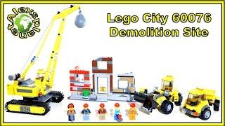Lego City 2015 60076 Demolition Site Speed Build Review