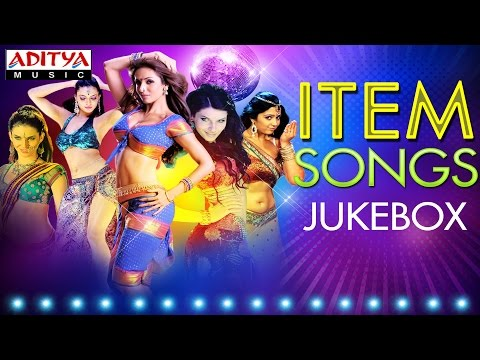 Best Item Songs of Tollywood  Jukebox Vol1