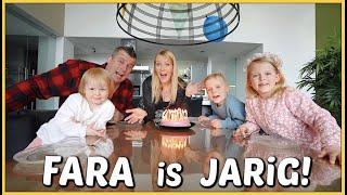 HOERA! 🥳 FARA iS JARiG ( 33 JAAR) | Bellinga Vlog #2066