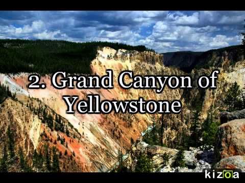 Yellowstones Top Attractions YouTube - Top 10 things to see in yellowstone national park
