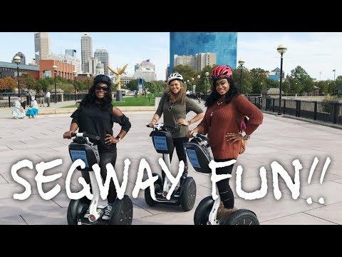 Segway Fun!!!!!! - ShannaMarieBVLOGS