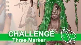 3 Marker Challenge w/ Copics #2 [Fanpro!]