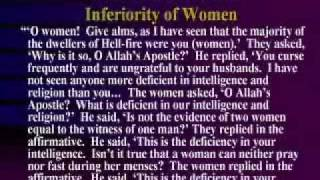 What Islam Says About Women #1:  Islam Is Custom Made For Men Not Women