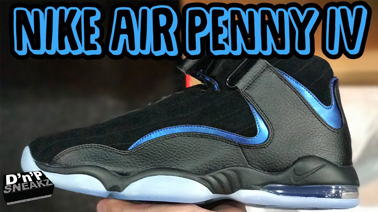 NIKE Air Penny 4's