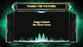 Repeat youtube video Gregg Lehrman - The Throw Down