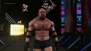 WWE 2K18 : 2.0 Create Titantron Movie Goldberg
