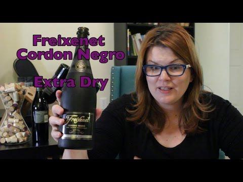 Wine Review: Freixenet Cordon Negro Extra Dry Cava