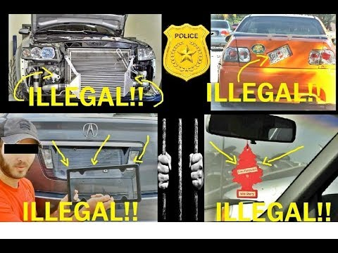 TRAFFIC LAWS YOU DIDN'T KNOW YOU WERE BREAKING PART 1!!