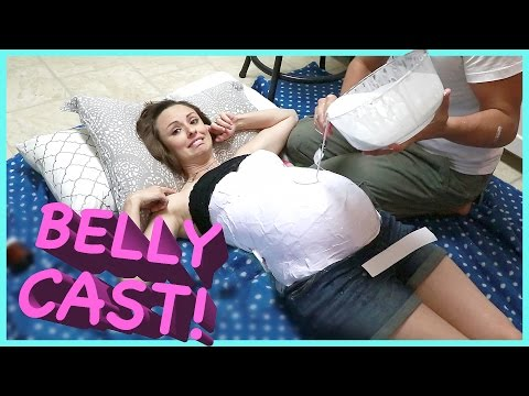 PREGNANT BELLY CAST!