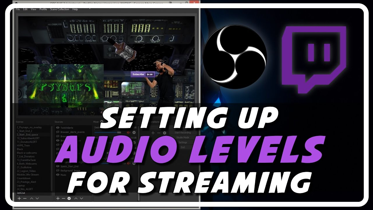Live Stream Audio: OBS VST Plugins and Settings (Tutorial by