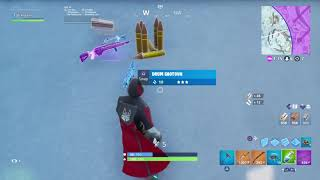 Fortnite gameplay with the iconic skin have fun