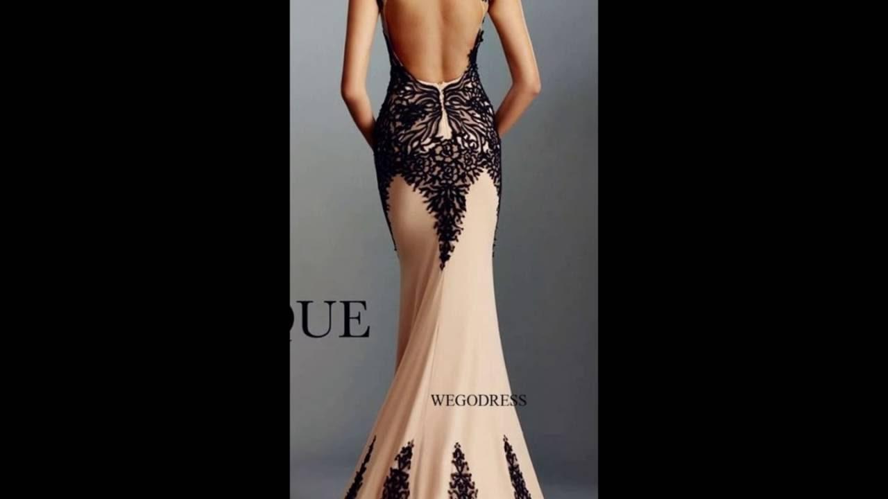 7b8eb90778 Escotes en vestidos elegantes - YouTube