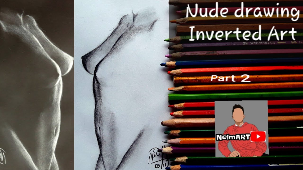 How to draw a girl nude pt 4 - YouTube