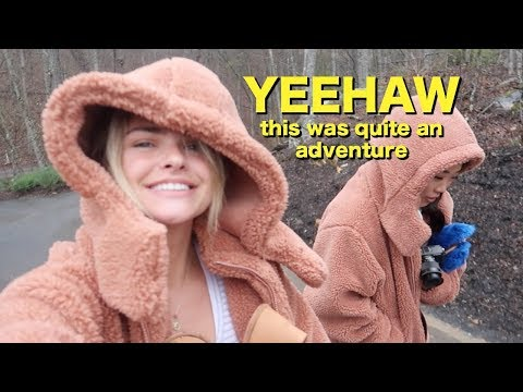 weekend vlog in Tennessee with my youtube friends (I barely slept)