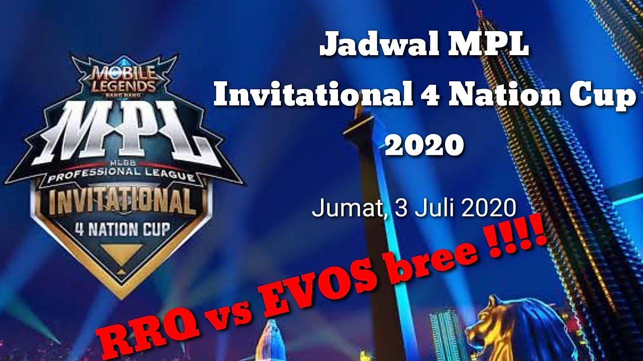 Jadwal RRQ vs Evos Legends !!! | Jadwal MPL Invitational ...