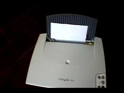programa de instalacion de impresora lexmark x75