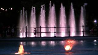 Пеещите фонтани  - Пловдив