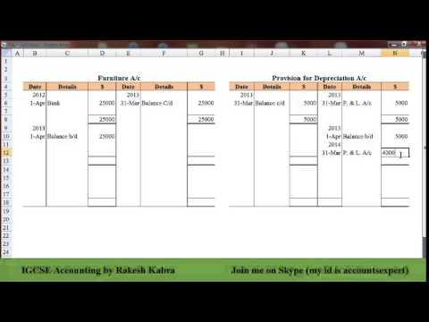 IGCSE Accountin: Depreciation (Disposal of Asset)