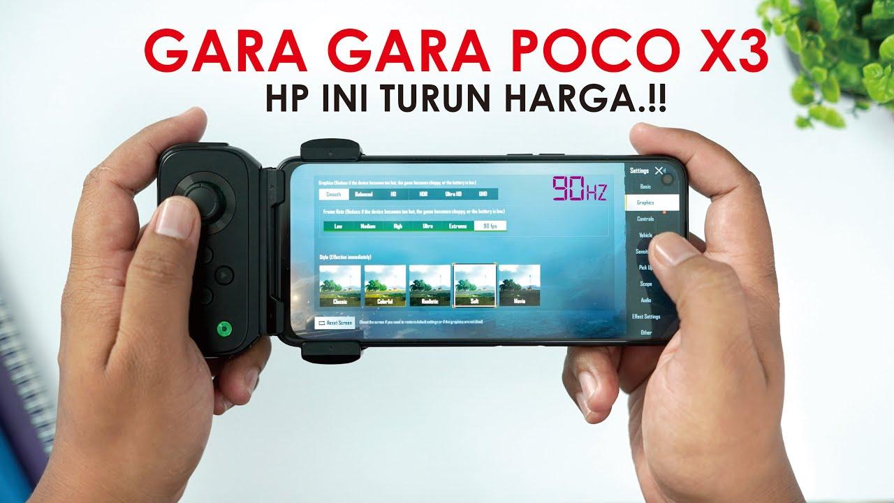 SEKARANG 2.6juta!! HP ini Turun Harga Gara-Gara POCO X3 NFC.!!