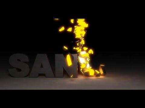 Glow text integration rayfire tutorial