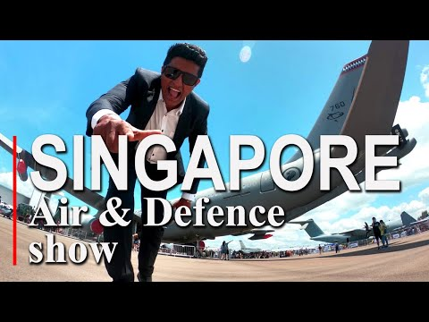Travel With Chatura  Singapore Air Defence Show 2020 (Vlog 228) (ENG SUB)