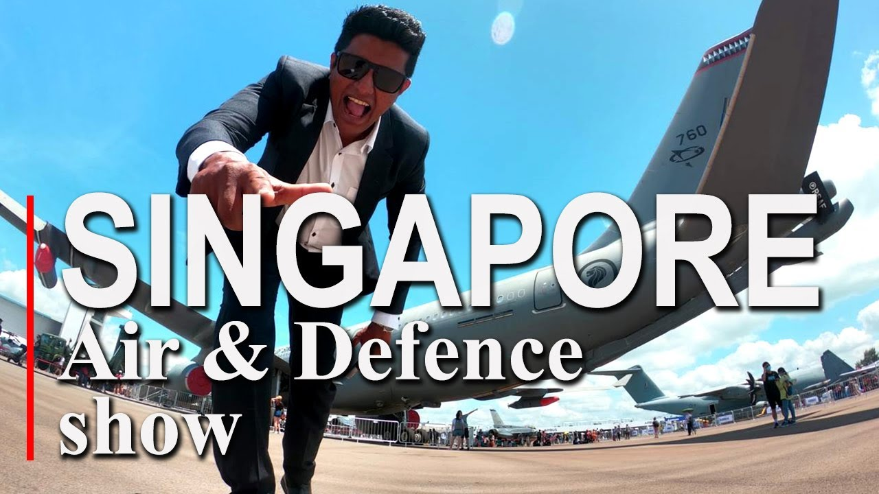 Travel With Chatura |Singapore Air defence show 2020 (Vlog 228) (ENG SUB)