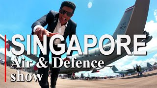 Travel With Chatura |Singapore Air defence show 2020 (Vlog 228) (ENG SUB) Thumbnail