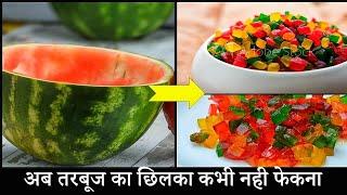 homemade tutti frutti recipe  how to make tutti frutti from water melon