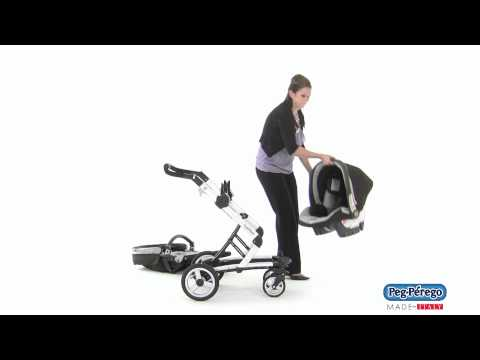 2011 Car Seat - Peg Perego Primo Viaggio SIP 30/30 - Skate Travel System