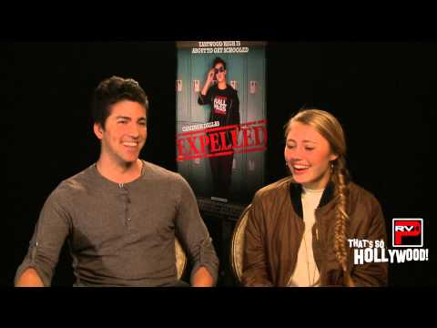 Lia Marie Johnson On Kissing Cameron Dallas & Director Alex Goyette Talks Craziness On Expelled Set!