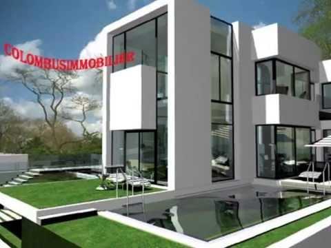 Villa a vendre jardins d 39 el menzah youtube for Villas de jardin port glaud