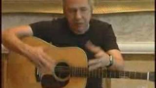 Mark Knopfler gives a guitar lesson 2001