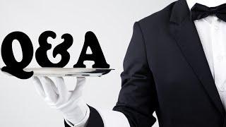 Q & A + QUALITY TIME!